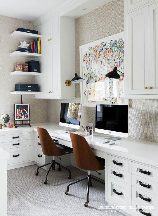 Decorating Home Office Throughout Alice Lane Home Work From In Style How To Decorate Office