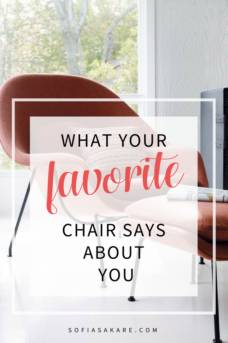 types of chairs what your favorite chair says about you