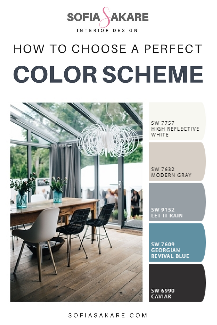 How to choose a perfect color scheme for your space.