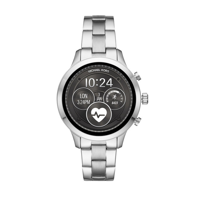 Michael Kors adds its iconic Runway style to its Access smartwatch collection, combining design and functionality for a highly personalized experience. (PRNewsfoto/Michael Kors)
