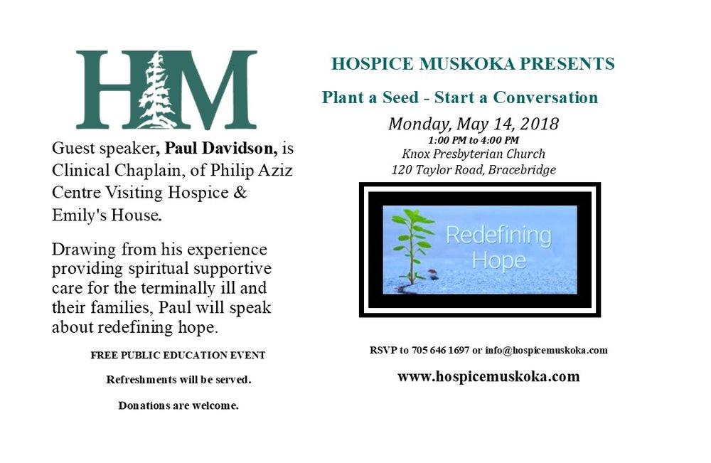 may14-hospice-muskoka-plant-a-seed