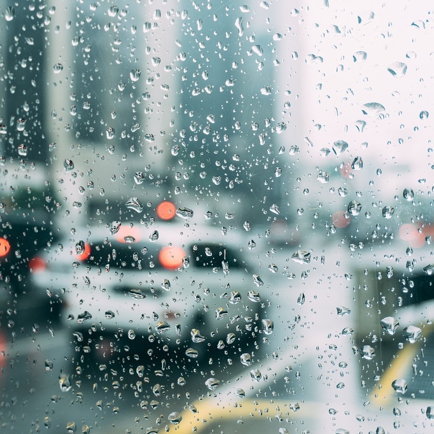 what if traffic sucks - AND it's raining? Nothing is worse than traffic. %@($&@!