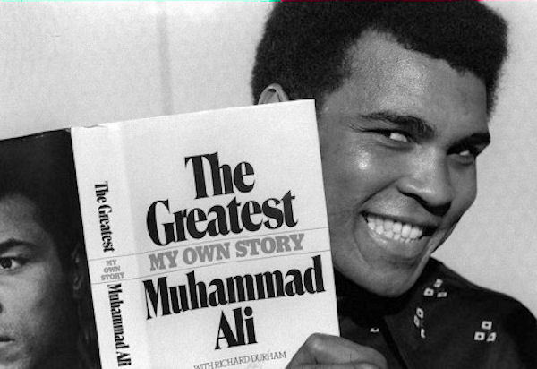 MUHAMMAD ALI'S MEMOIRS - If I need to explain why this made the list, you need to read the book. Muhammad Ali AKA 'The Greatest' started from nothing and his story is an inspiring story of the power of the mind. I love to box so this book fascinates me in the way too. Definite must read for everyone.