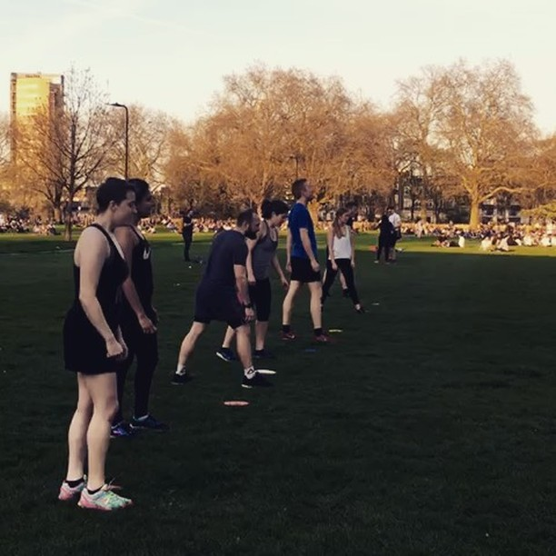 It's crazy to think this is our final fortnight. Our incredible team has built brilliant products supported by an amazing community. If you haven't come down to train with us yet, join us at 18.45 in London Fields tonight or 10.45 Saturday morning. • The videos give you a taster of what we get up to + it's never too late to try your first class. Everything is 50% off so it's just £7.50 a class. Enjoy the ☀️