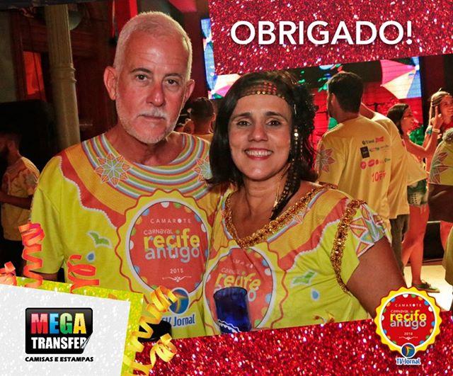 👚👕 A @megatransfer foi responsável por confeccionar as camisas do @carnavalrecifeantigo! 🎉🎊 Nosso muito obrigado pela rapidez, qualidade e parceria!