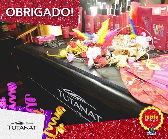 💆💁 Close certo o espaço de beleza da @tutanatoficial no @carnavalrecifeantigo! Check-in obrigatório da mulherada que queria caprichar ainda mais na beleza para brincar o Carnaval! Nosso muito obrigado!😍😍