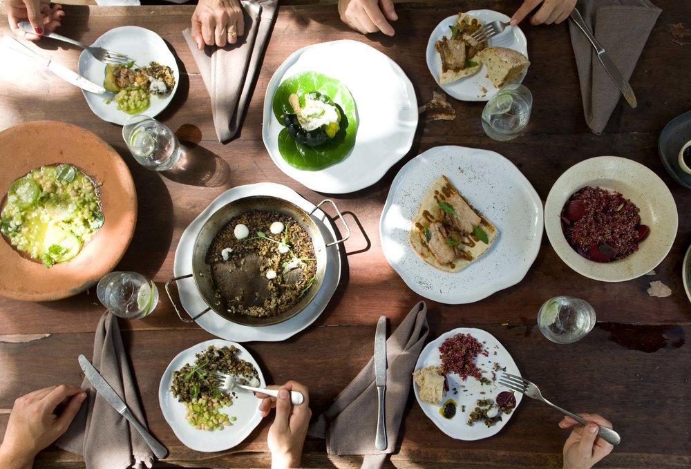 Mexican brotherhood cuisine