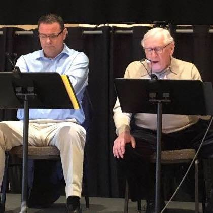 "performing with Len Cariou in ""HARRY TOWNSEND'S LAST STAND"""