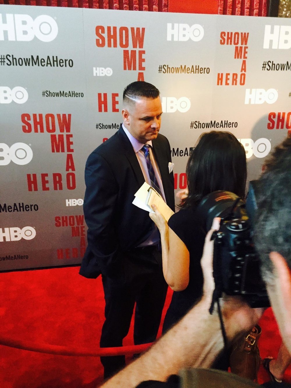 "Red Carpet Premeire of ""SHOW ME A HERO"""