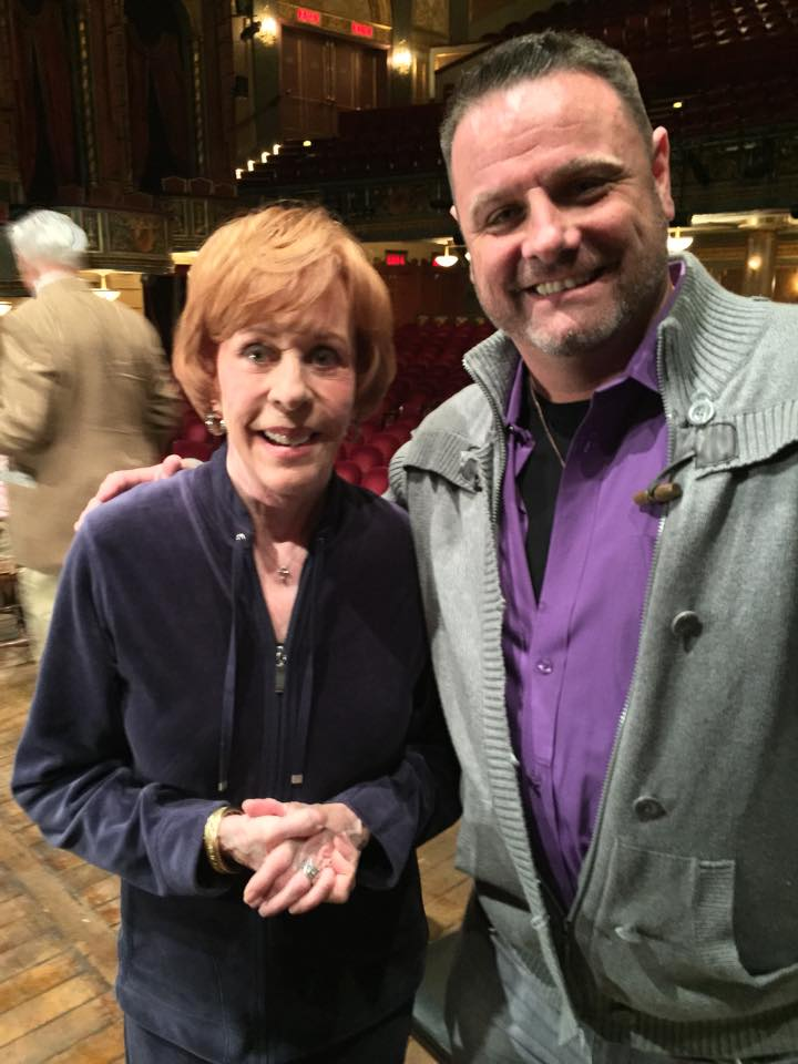 "With Carol Burnett ""LOVE LETTERS"""