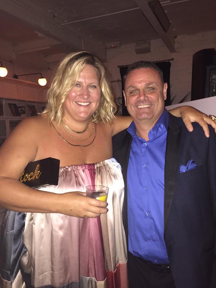 "With Bridget Everett  ""PATTI CAKE$ party"