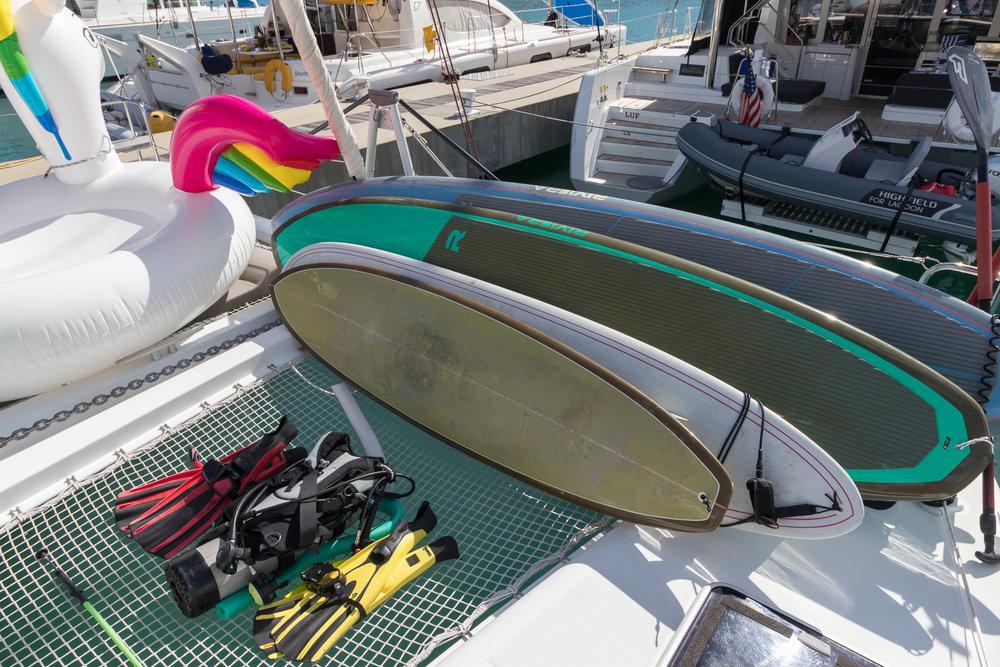 Great Adventure Lagoon 450 Onboard Toys