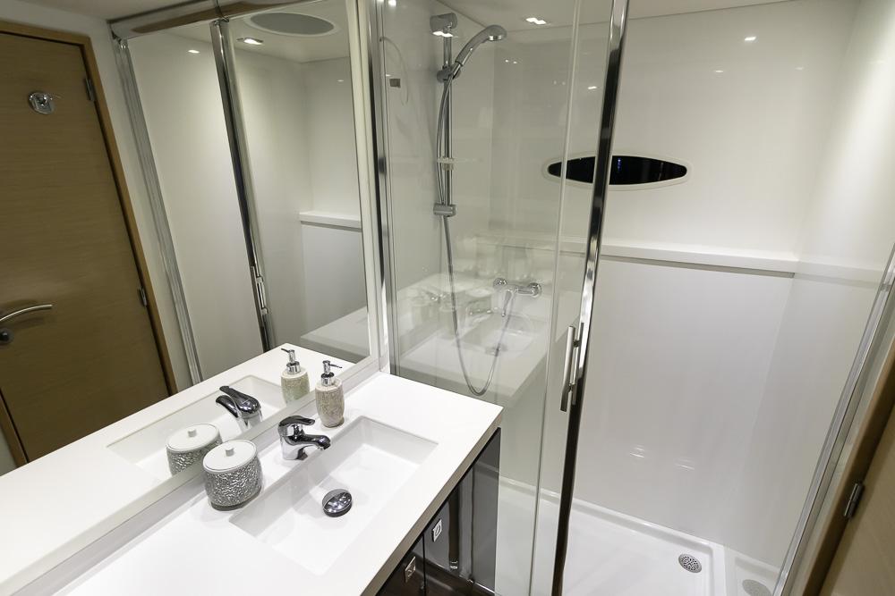 Aoibh-Fountaine Pajot Sanya 57'-Bathroom