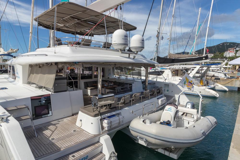 2015 Lagoon 560 Charter Catamaran-Azulia II
