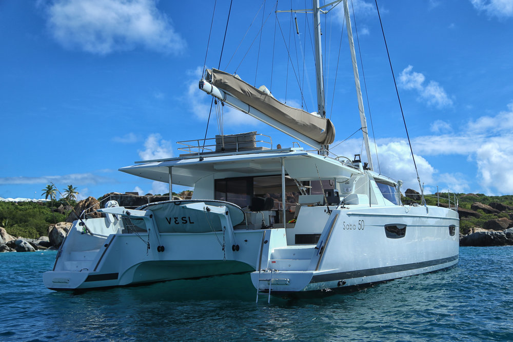 New 2017 Fountaine Pajot-Saba 50'-Available for charters starting May 1st, 2018