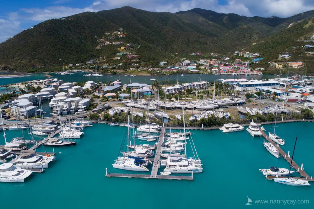 Nanny Cay Marina, Tortola, British Virgin Islands