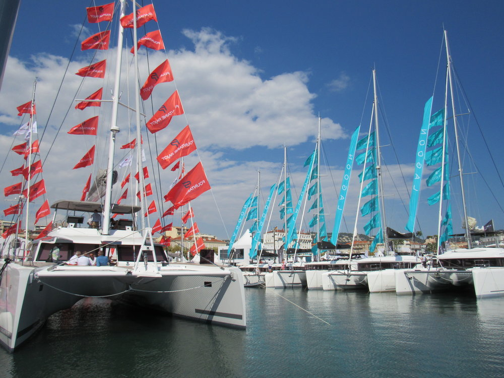 Yachting Festival- Lagoon and Fountaine Pajot Catamarans