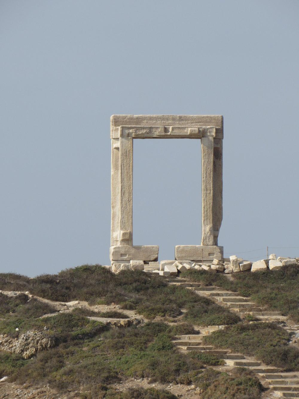 Apollo Temple, Naxos, Greece