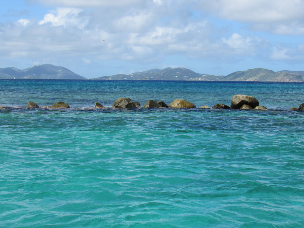 Gorgeous waters of the BVI's!
