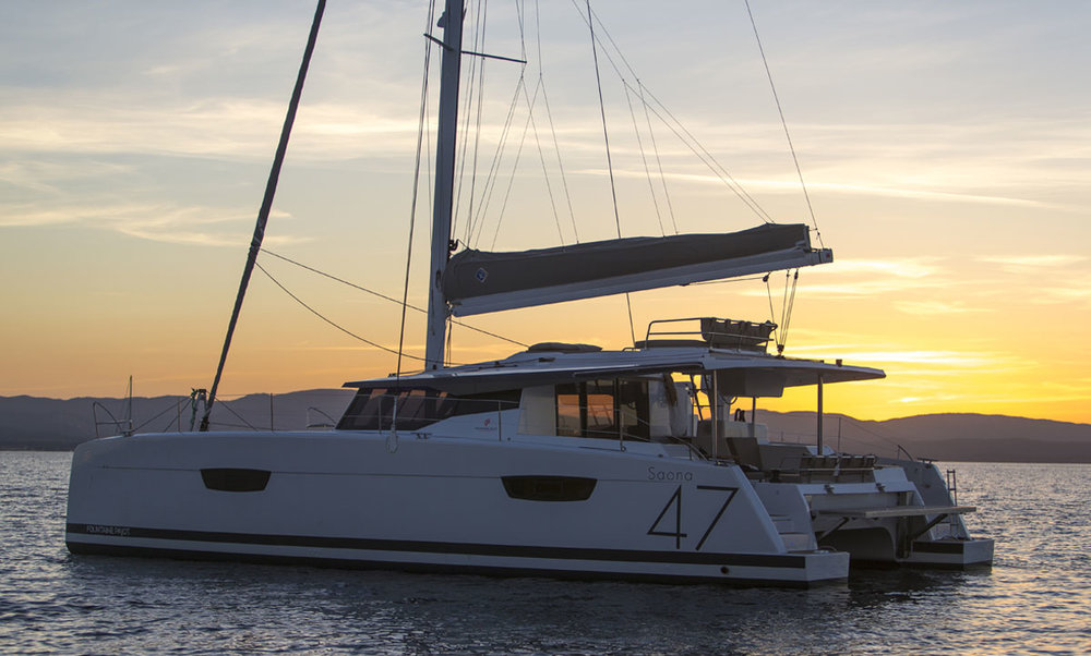 BLACK TORTUGA SAONA 47 CATAMARAN-SLEEPS 8
