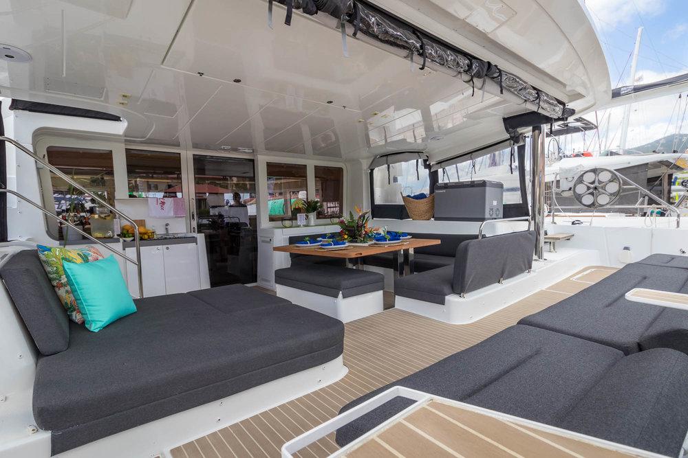 2017 Lagoon 52 Charter Catamaran-Oui Cherie