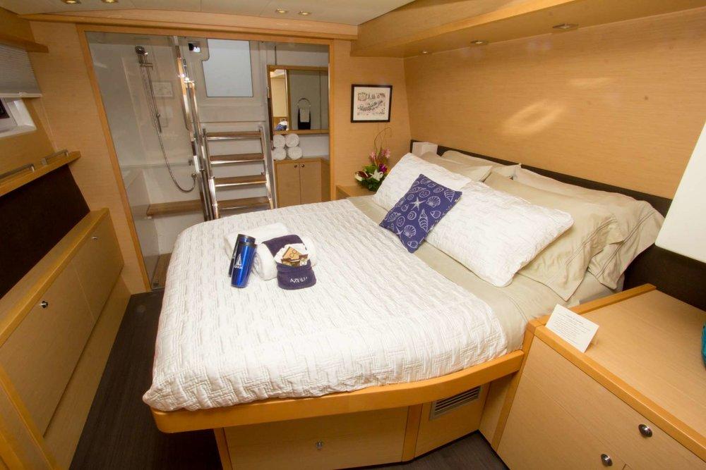 Azulia II-56' Lagoon 560-Master Cabin