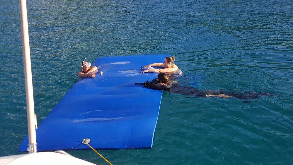 Giant Floating Mat-Lagoon 620-Foxy Lady