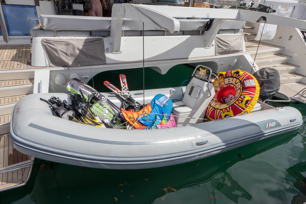Dinghy and Water Toys-Foxy Lady