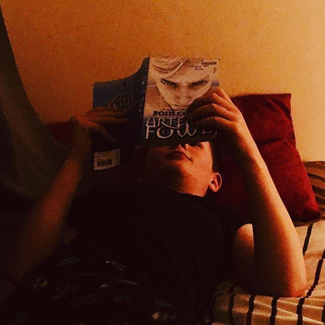 Last time around, I did the reading. #artemisfowl