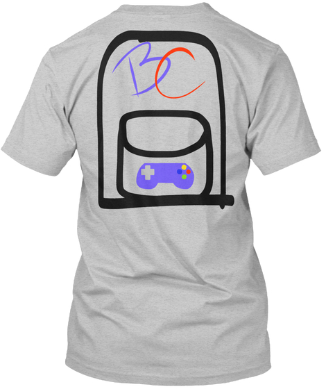 Backpacks + Controllers Tshirt back.jpg