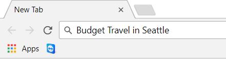 Chrome Searchbar