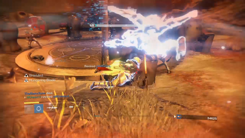 Destiny - Killing a Captain with the Bladedance Super