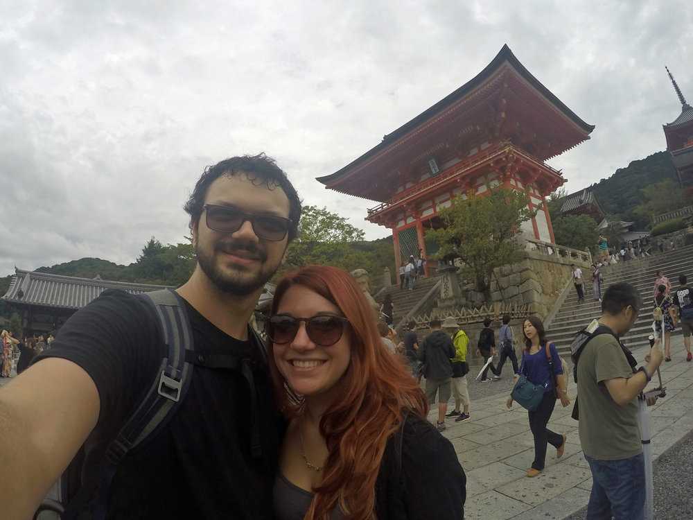Deanna and I at a shrine Kyoto, Japan in Sept 2016