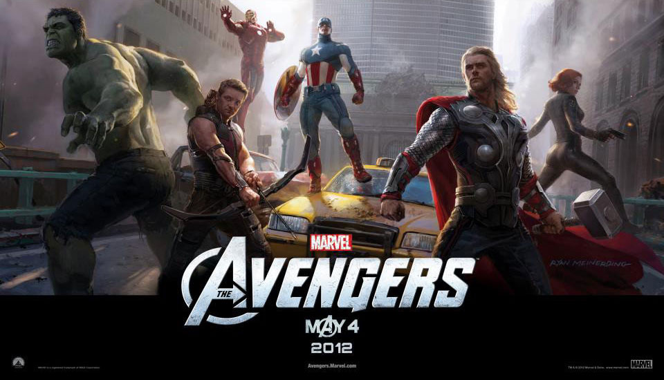 Marvel's The Avengers IMAX Poster