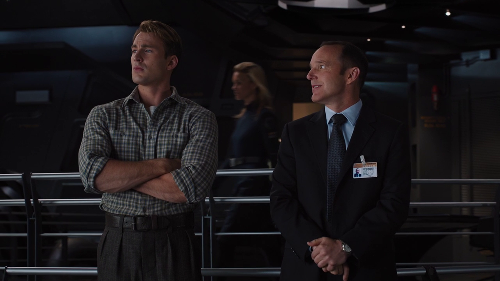 Marvel's The Avengers: Steve Rogers and Agent Phil Coulson
