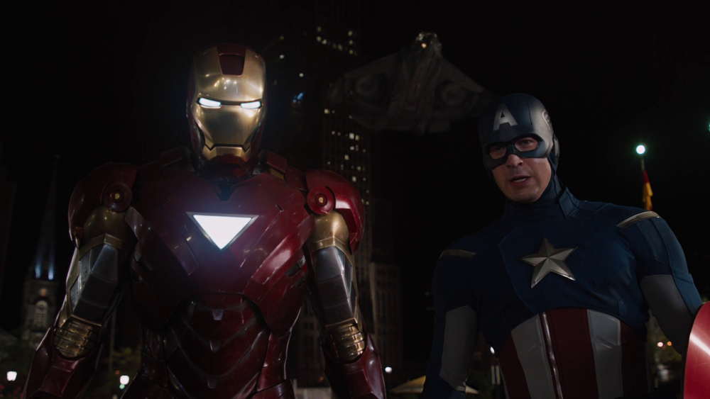 Marvel's The Avengers: Iron Man and Captain America