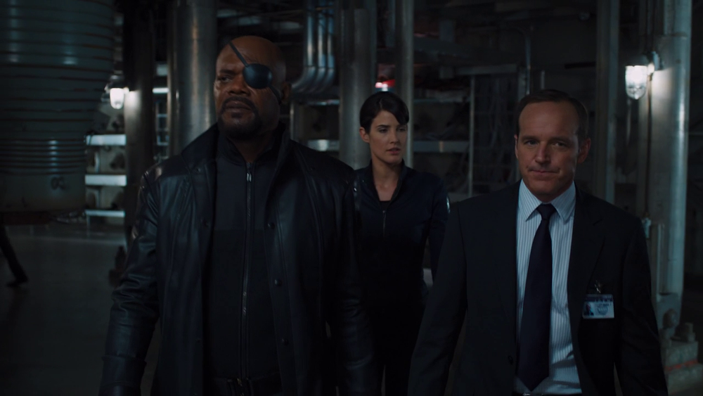 Marvel's The Avengers: Nick Fury, Maria Hill and Phil Coulson