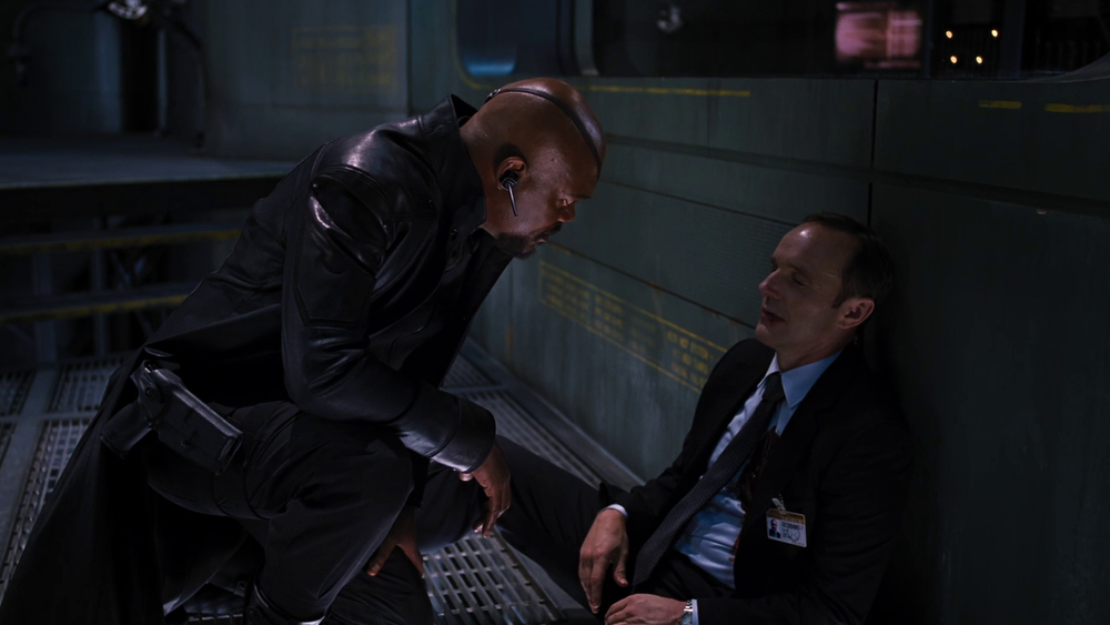 Marvel's The Avengers: Nick Fury and Agent Phil Coulson