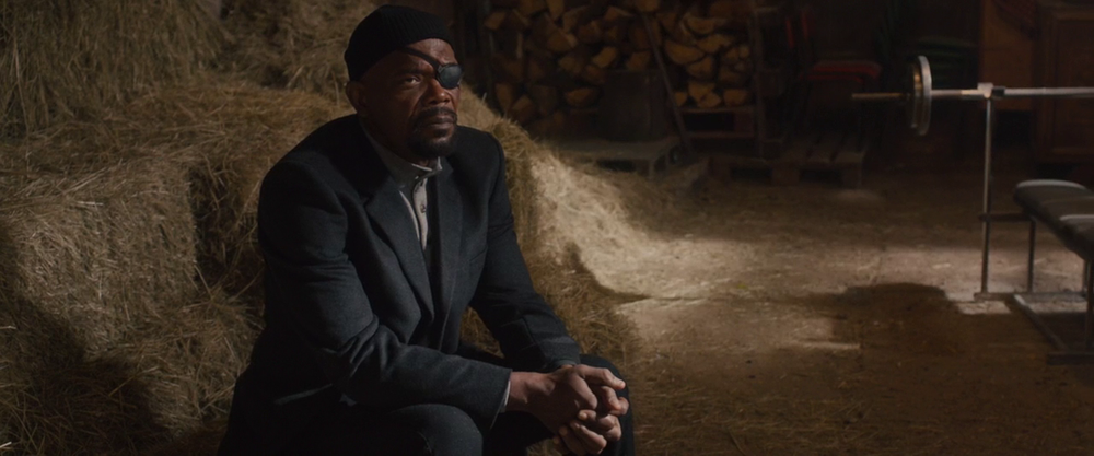 Avengers: Age of Ultron - Nick Fury in the Barn