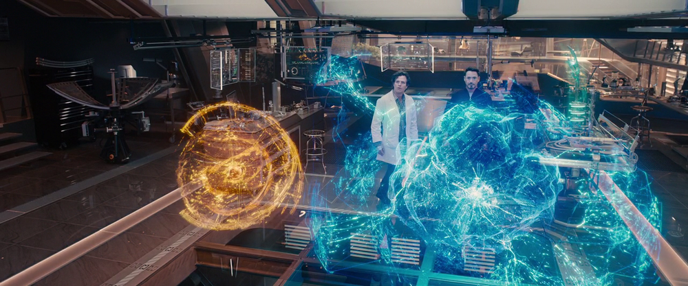Avengers: Age of Ultron - Jarvis vs Ultron