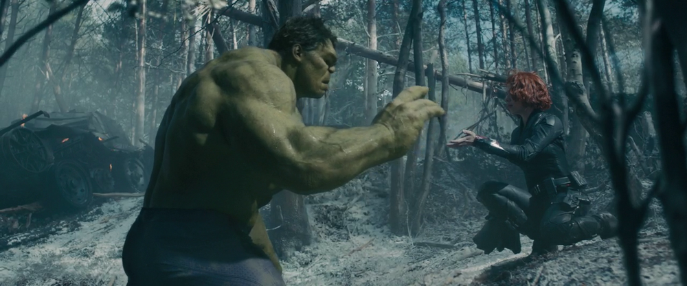 Avengers: Age of Ultron - Black Widow Calming down the Hulk