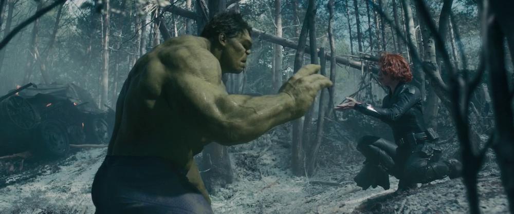 Avengers: Age of Ultron - Black Widow Calming down the Hulk