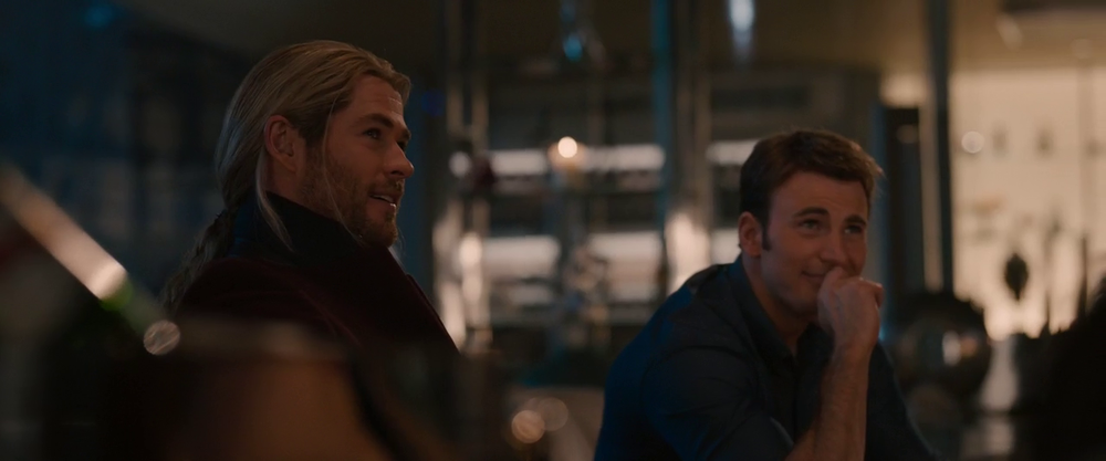 Thor and Steve Rogers