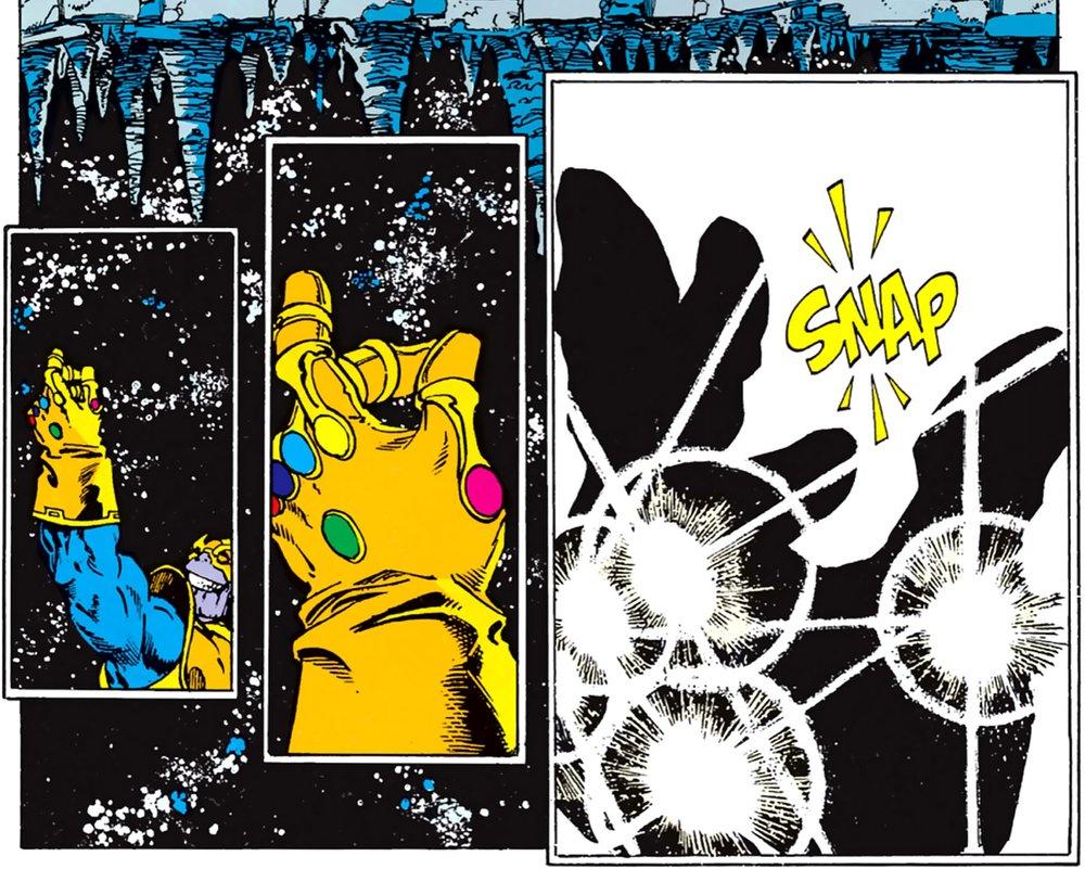Infinity Gauntlet Snap