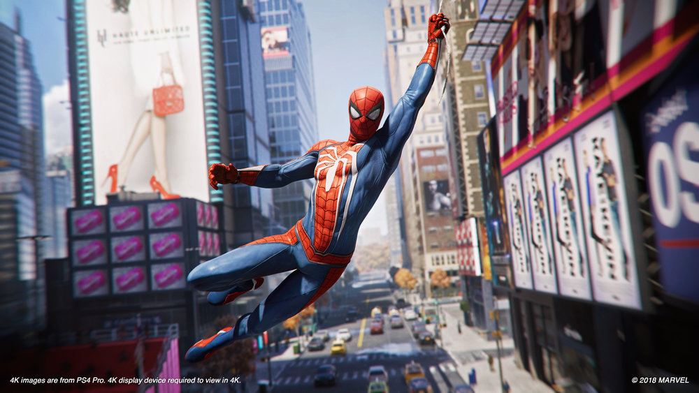 Source: Insomniac Games (https://insomniac.games/game/spider-man-ps4/)