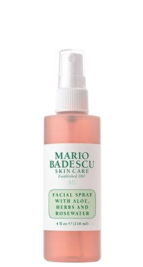 Mario Badescu Facial Spray - Every beauty and skincare junkies must have, this facial spray will automatically leave you with dewy and refreshed skin, and also doubles as a makeup setting spray. Whether you wear makeup or not this is a great way to achieve dewy, florescent skin.