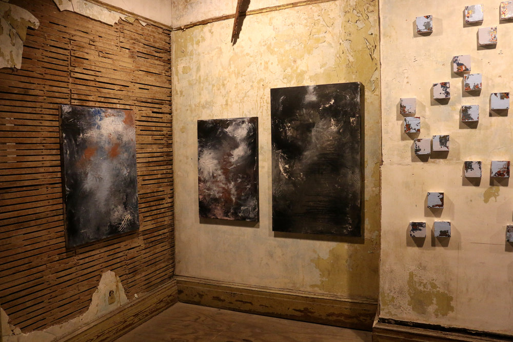 installation shot from  Healing Water(e)  exhibition, 2018