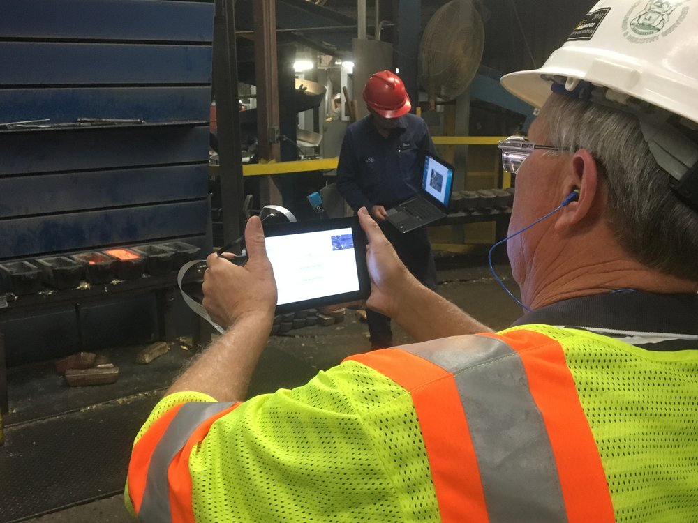 Capturing Data with VEM Mobile Capture at a Brass Foundry