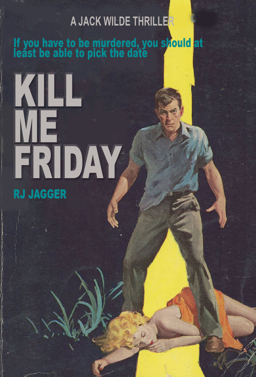 KILL ME FRIDAY - Jack Wilde, investigator for hire, lives in an edgy world where the dames are dangerous, cigarettes dangle from ruby-red lips and the nights are hotter than whiskey-soaked jazz. In this riveting noir thriller from R.J. Jagger, Wilde finds himself spinning into a string of murders with the next one coming by the end of the week.