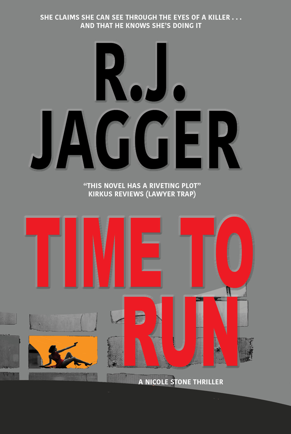 TIME TO RUN  - Coming Fall 2018 in Hardcover and ePub.Miami homicide detective Nicole Stone's newest case is as dangerous and threatening as it is frantic. An up-and-coming actress has been violently snatched from her bed and, if the taker's MO holds true, she'll be killed within the next few days. It soon becomes clear, however, that the woman may be more than just the next victim-to-be. She may also be the bait to draw in the next victim who will follow after her. Namely, Nicole herself.ISBN 9781937888367 (Hardcover edition)ISBN 9781937888374 (Paperback edition)ISBN 9781937888381 (Ebook edition)Distributed by Ingram.